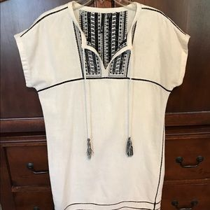 Joes Jeans Beach Cover up Tunic Dress. Small